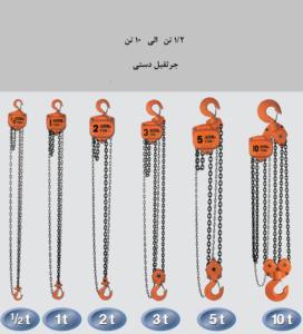 بالابر زنجیری دستی Manual Chain Hoist
